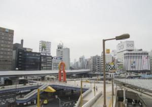 菅義偉,上野駅